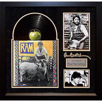 Paul McCartney - Ram - Signed Album