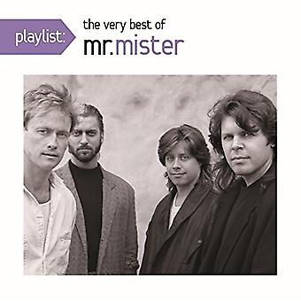 Mr Mister - Playlist: The Very Best of Mr. Mister [CD] USA import