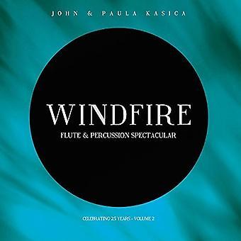 John Kasica - Windfire: Import USA flet & instrumenty perkusyjne spektakularne Tom 2 [CD]