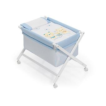 Interbaby Minicuna White Model Bear and Cart