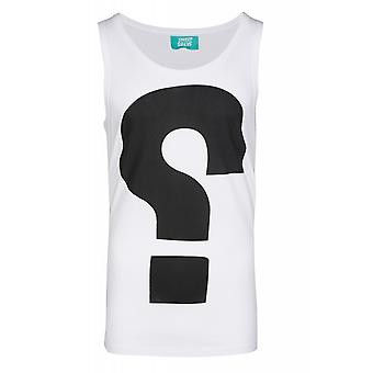 Sweet SKTBS Yestion shirt men's tank top White with front print