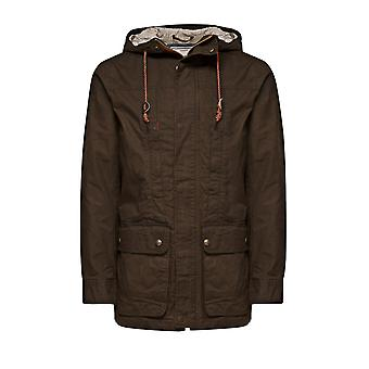 Jack and Jones Gerard Parka Dark Green Jacket