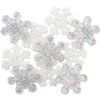 Dress It Up Holiday Embellishments Sparkle Flakes Diuhlday 4224