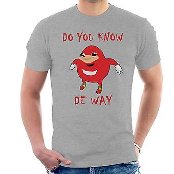 Sai t-shirt De modo giocatore Meme uomo