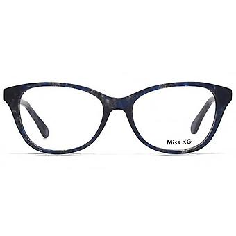 Miss KG Delia Preppy Cateye occhiali In blu Demi