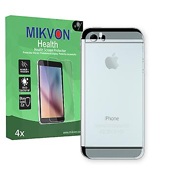 Apple iPhone 5S reverse Screen Protector - Mikvon Health (Retail Package with accessories)