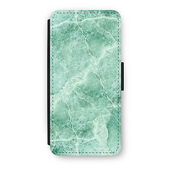 iPhone 5 c フリップ ケース - 緑の大理石