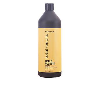 Matrix Total Results Hello Blondie Shampoo 1000ml New Unisex