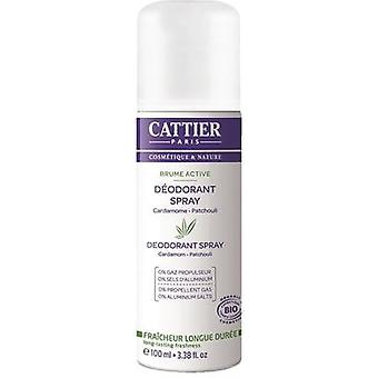 Cattier Deodorant Spray Brume Active