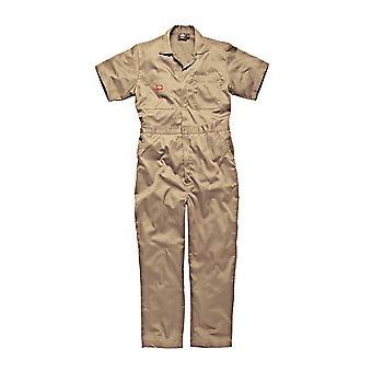 ディッキーズ メンズ作業服綿スーパー安全つなぎカーキ WD2299K