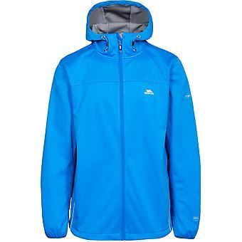 Traspaso Mens Zeek punto chaqueta Softshell transpirable impermeable