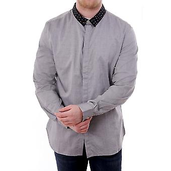 PS Paul Smith Mens Slim Shirt With Contrast Collar