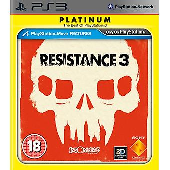 Resistance 3 - Platinum Edition (PS3)