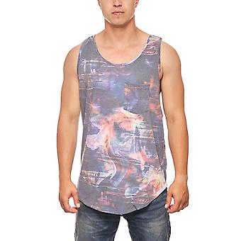 Muscle shirt mens summer top stained JUNK YARD