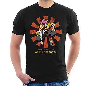 Natsu Dragneel Retro Japanese Fairy Tail Men's T-Shirt