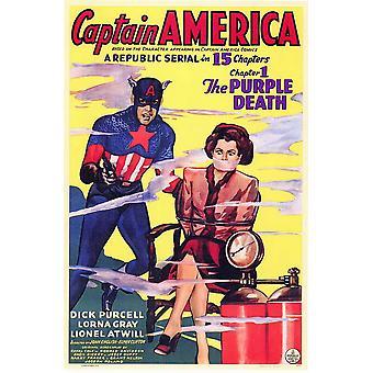 Captain America Movie Poster (11 x 17)