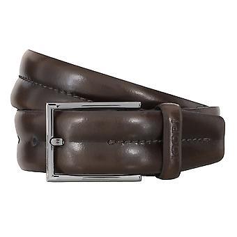 JOOP! Correa de cuero cinturones hombre cinturones Brown 4700