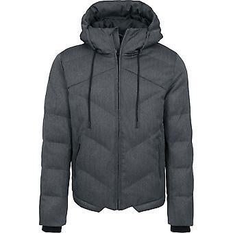 Urban classics jacket Heringbone hooded