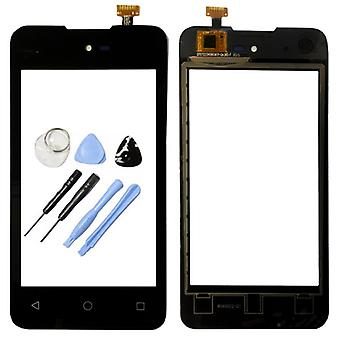 Display touch skærm digitizer sort-til WIKO solrige