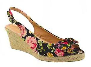 Waooh - Chaussure compensée Enza Nucci OH5061 - Fleur
