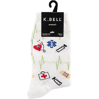 Novelty Crew Socks-Medical Supplies