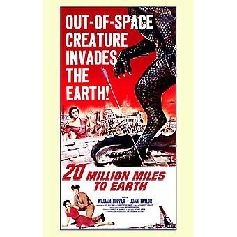 20 Million Miles to Earth Movie Poster (11 x 17)