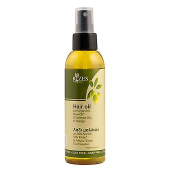 Hair oil, with Argan Oil, Olive Oil and Essential Oils of Lavender.
