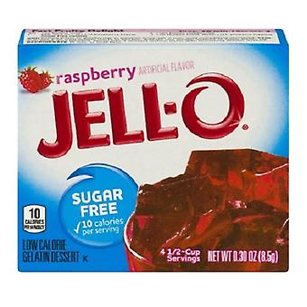 Wackelpudding Himbeer Zucker kostenlose Instant Jello Gelatine Mischung