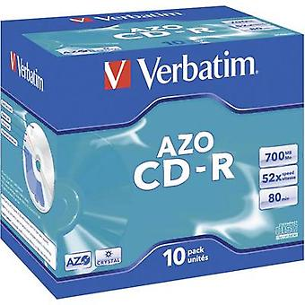 Ordret 43327 blank CD-R 80 700 MB 10 pc (s) jewel case
