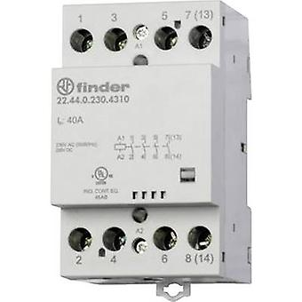 Finder 22.44.0.230.4310 Contactor 1 pc(s) 4 makers 230 Vdc, 230 V AC 40 A