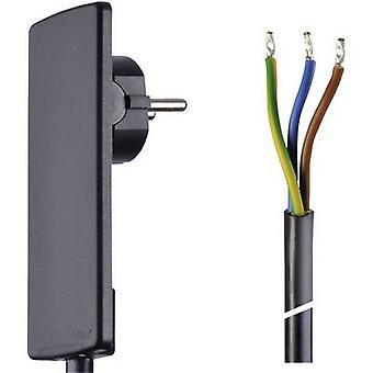 EVOline 151000151100 corriente Cable negro 1.50 m