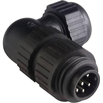 Hirschmann 934 130-100 CA 6 W LS CA Series Mains Voltage Connector Nominal current (details): 10 A/AC/DC Number of pins: