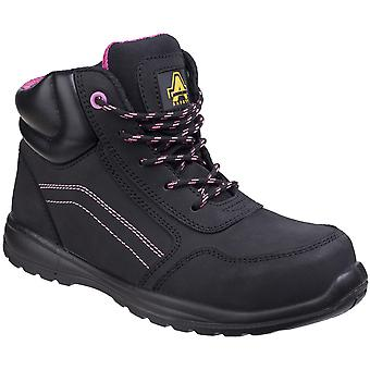 Amblers Safety Womens AS601 Composite Boots With Side Zip