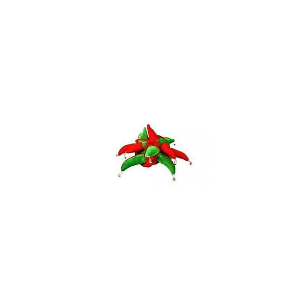 Union Jack Wear Red & Green Jester Hat