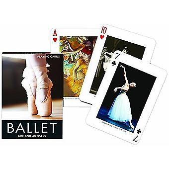 Ballet Art & Artistry Set Of Playing Cards + Jokers