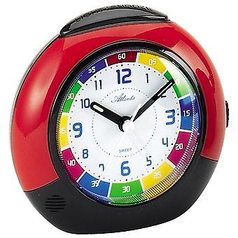 Quartz alarm clock kids kids alarm clock quartz red creeping second light function