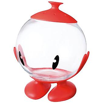 United Pets Bubble Glass Container Multi Red (Fish , Fishbowls & Tanks)