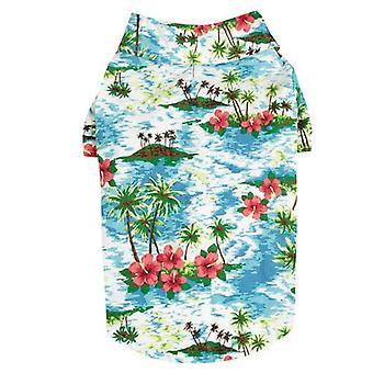 Cc Hawaiian Breeze Camp Shirt XXS Blu