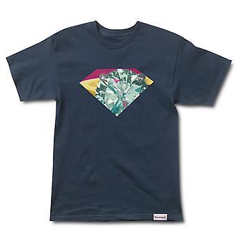 Diamond Supply Co Union T-shirt Navy