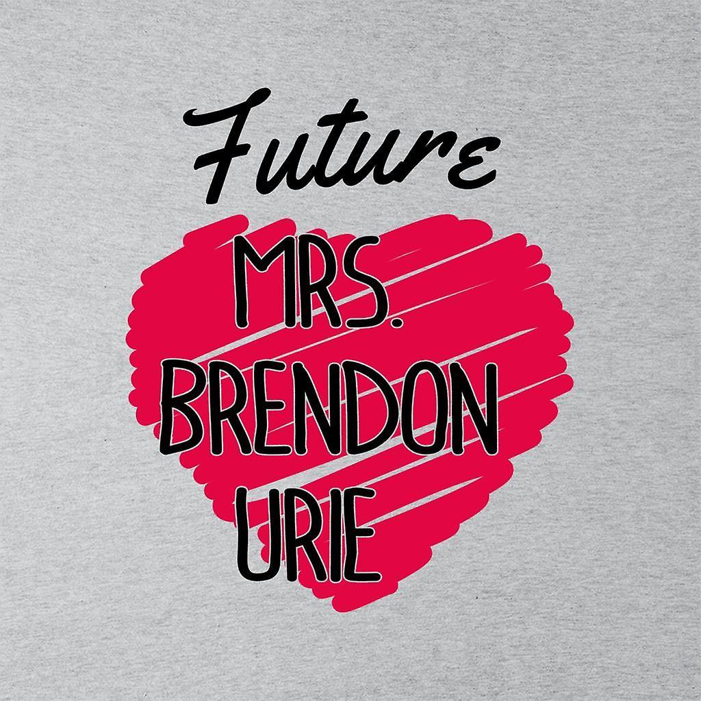 Sudadera con capucha de la mujer Sra. futuro Brendon Urie