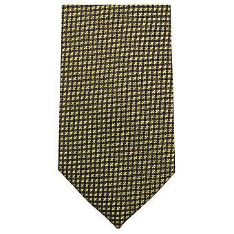 Knightsbridge Neckwear Small Cross Tie - Yellow