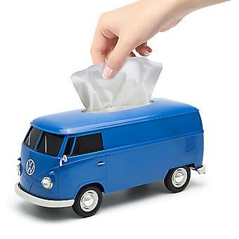 Offisielle VW Bobil Van plast vev boksen holderen - blå