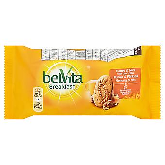 Belvita-Honig und Nüsse Frühstück Gebäck