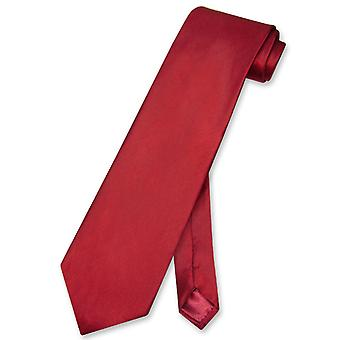 Biagio BAMBOO SILK NeckTie EXTRA LONG Solid Men's XL Neck Tie