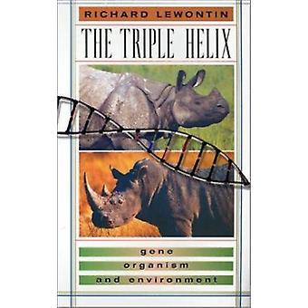 Trippel Helix - genet - organismen og miljø ved Richard C. Lewon