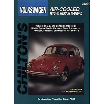 Volkswagen Beetle, Transporter, Karmann Ghia, Fastback, Squareback, Notchback, 411 och 412 (1970-81) (Chilton total Bilvård)