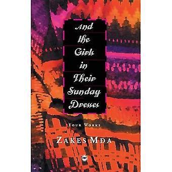 Och flickorna i deras söndag klänningar: fyra verk