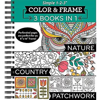 Color and Frame 3 in 1 Nature, Country, Patchwork