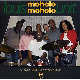 Louis Moholo-Moholo - offener Brief an meine Frau Mpumi [CD] USA import