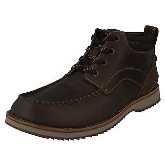 Men's Clarks Casual Boots Mahale Mid